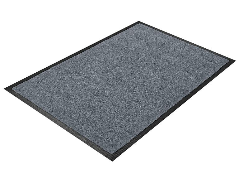 schmutzfangmatte mittelgrau logomatten und teppiche drucken in bester qualit t. Black Bedroom Furniture Sets. Home Design Ideas